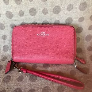 Coach small wristlet / wallet